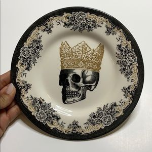ROYAL STAFFORD Skull Crown King PLATE